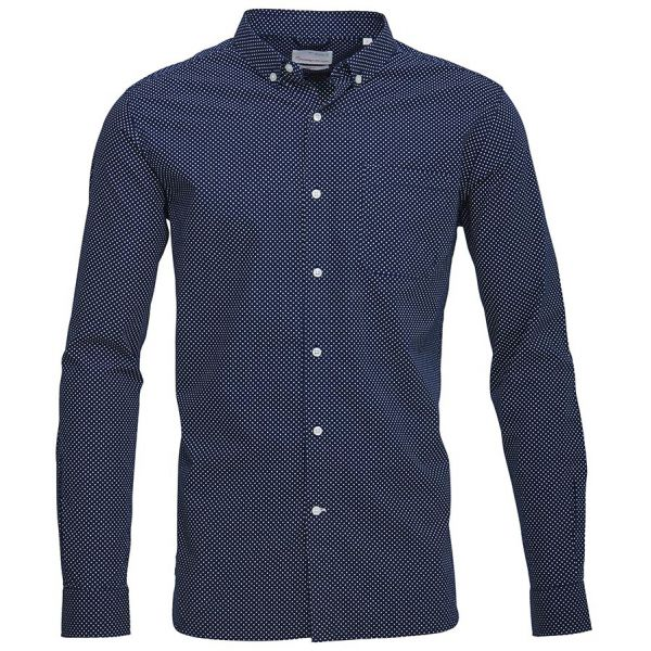 kca-dot-printed-poplin-shirt