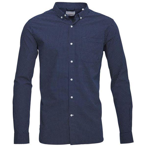 kca-dot-printed-poplin-shirt