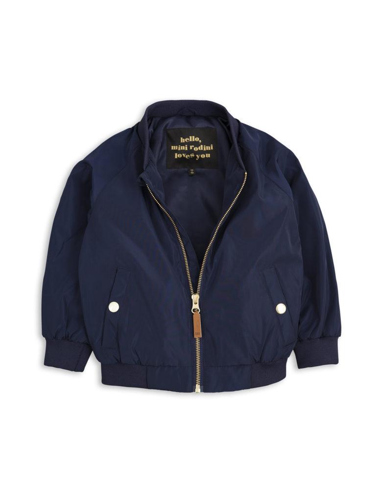 1711011067 mini rodini frog baseball jacket navy 2