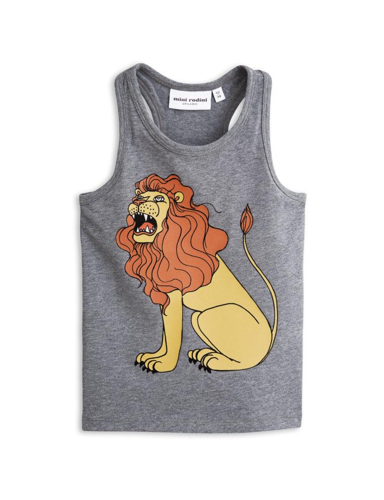 1712013194 mini rodini lion sp tank grey melange 1