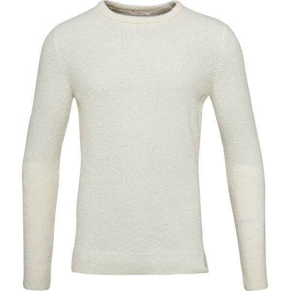 K.C.A-Fine-Moss-Round-Neck-Knit-white