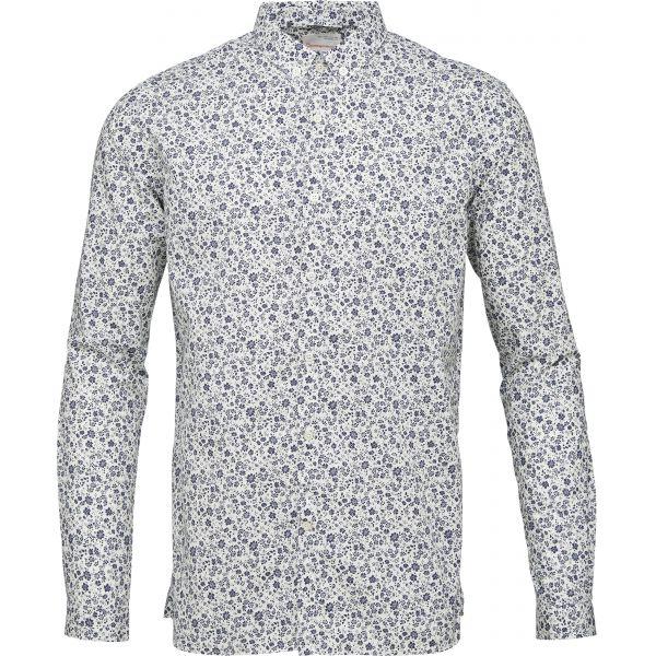 K.C.A-Poplin-Shirt-Flower-print-peacoat
