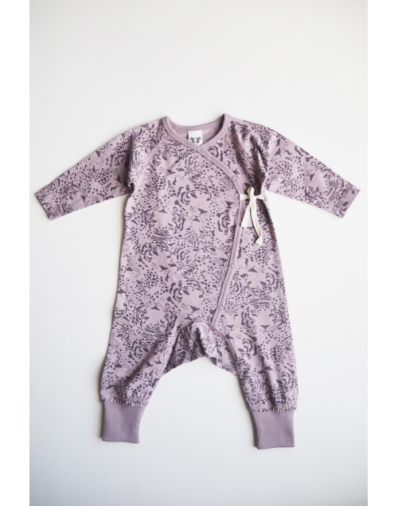 By Heritage LOVE Playsuit – Print Purple Rose ce9e3d4be676c