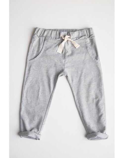 TEDDY-trousers-grå