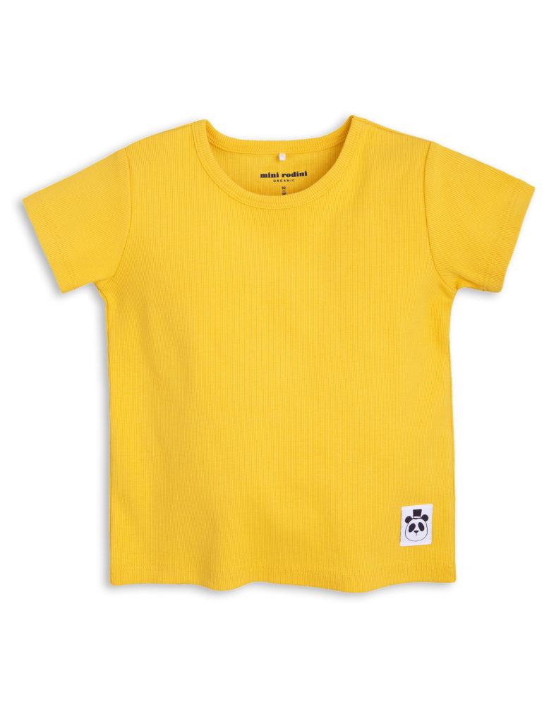 1712017523 1 mini rodini solid rib ss tee yellow