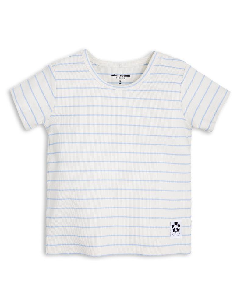 1712017550 1 mini rodini stripe rib ss tee light blue