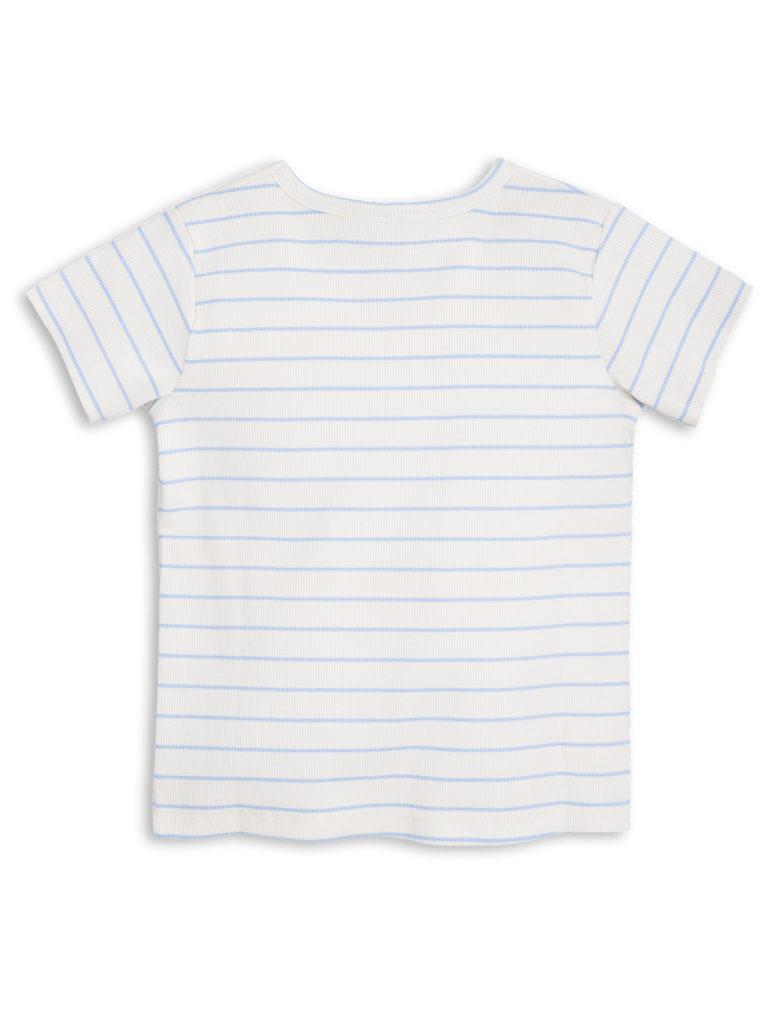 1712017550 2 mini rodini stripe rib ss tee light blue