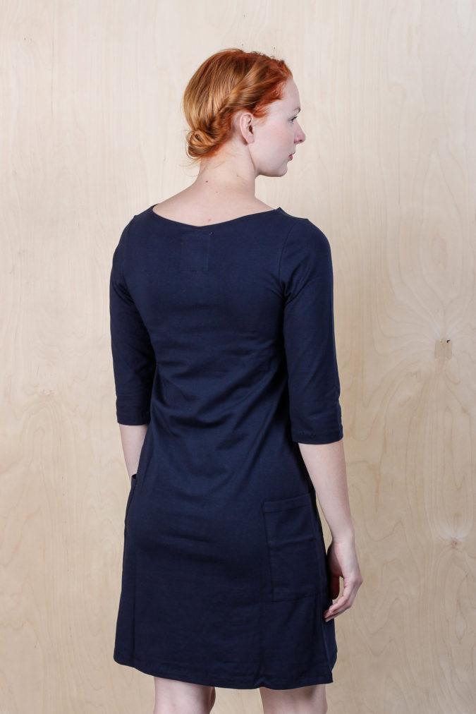 EM Mira Dress Navy 4