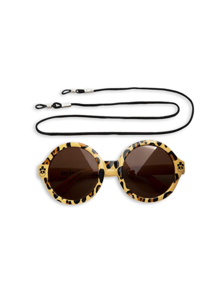 1716013513 1 mini rodini leopard round sunglasses beige