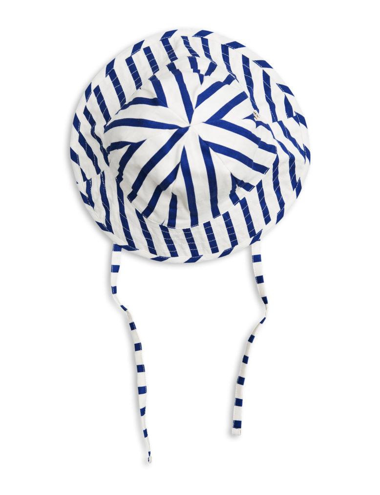 1716511060 1 mini rodini stripe sun hat blue