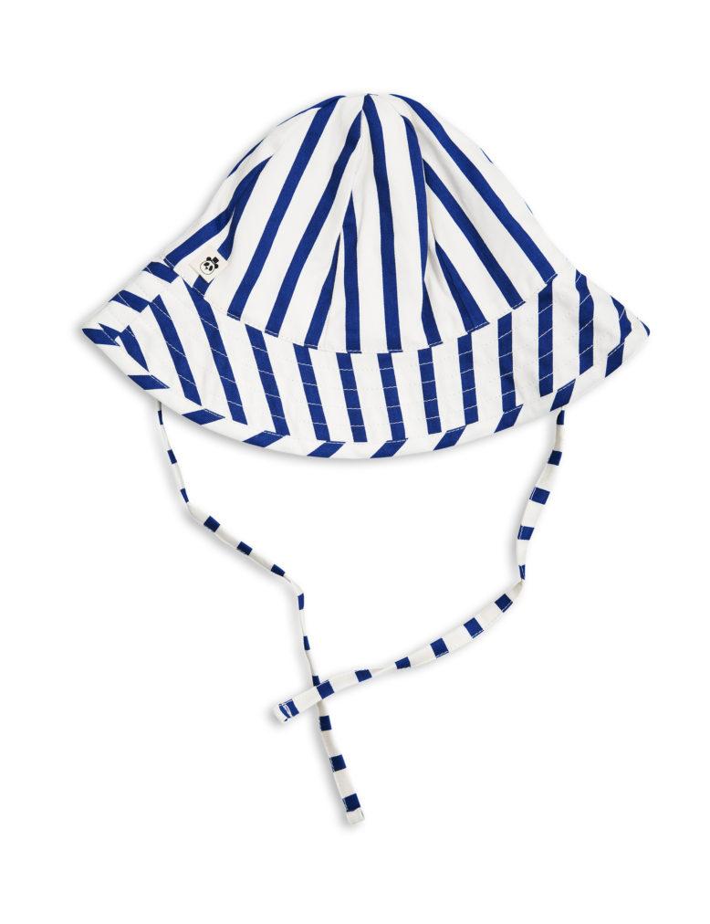 1716511060 2 mini rodini stripe sun hat blue