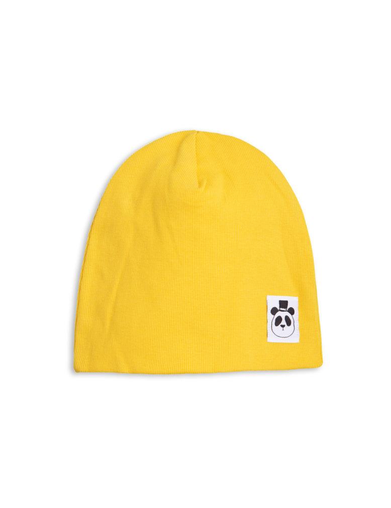 1716513323 1 mini rodini solid rib beanie yellow