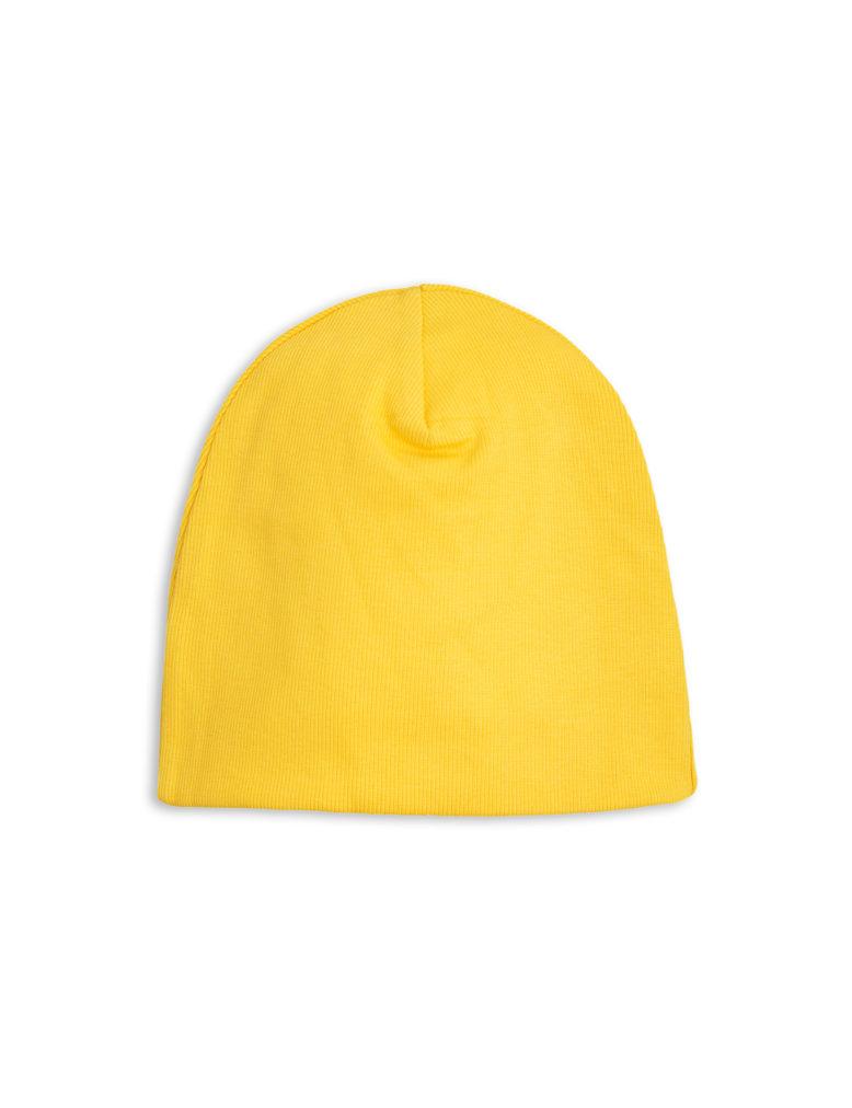 1716513323 2 mini rodini solid rib beanie yellow