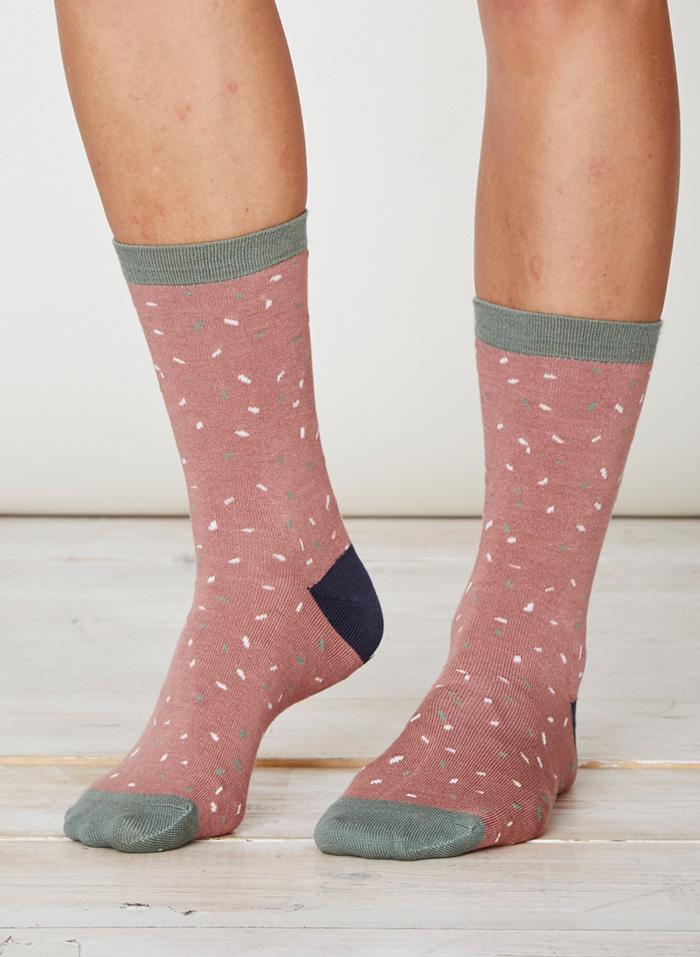 SPW231-Byron-Bamboo-Socks-Terracotta-Front