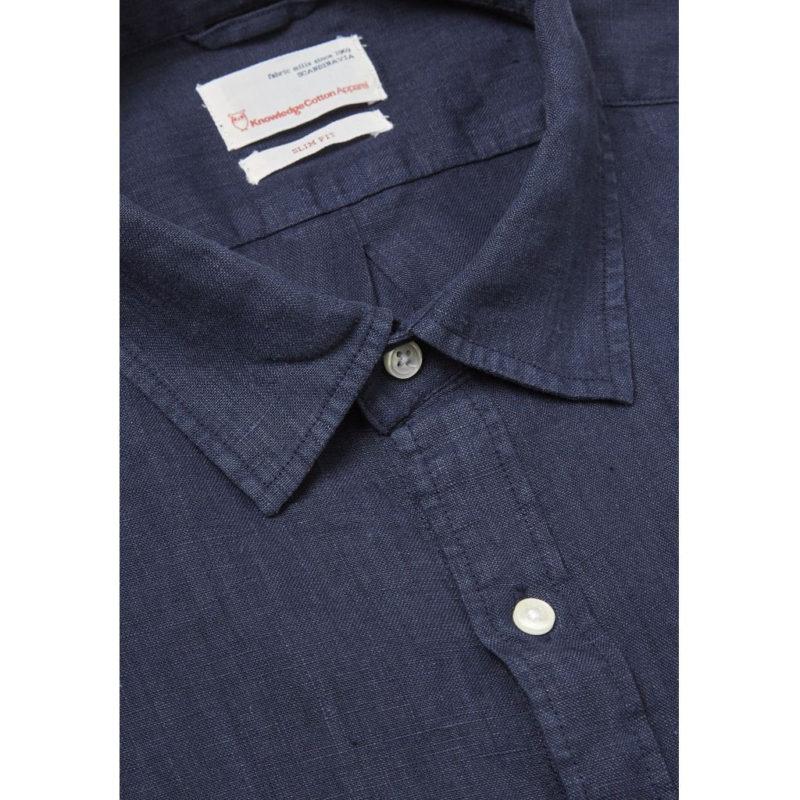 linneskjorta blå gall1