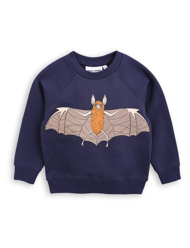 1772013767 1 mini rodini flying bat sp sweatshirt navy