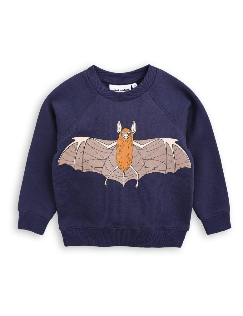1772013767 1 mini rodini flying bat sp sweatshirt navy