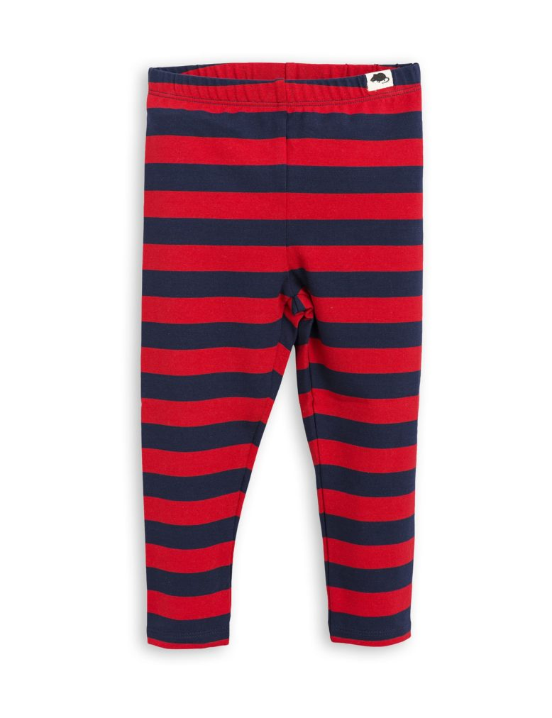 1773014642 1 mini rodini blockstripe leggings red