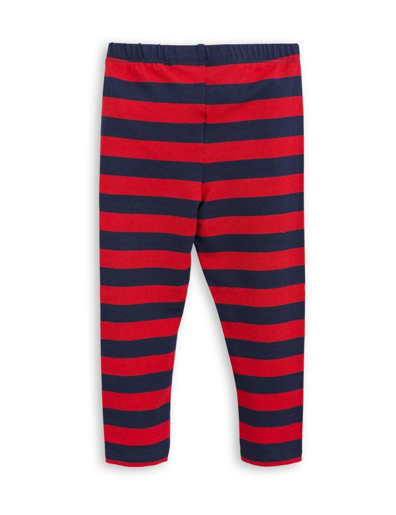 1773014642 2 mini rodini blockstripe leggings red