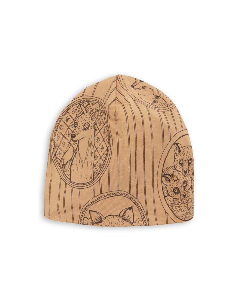 1776510016 2 mini rodini fox family beanie brown