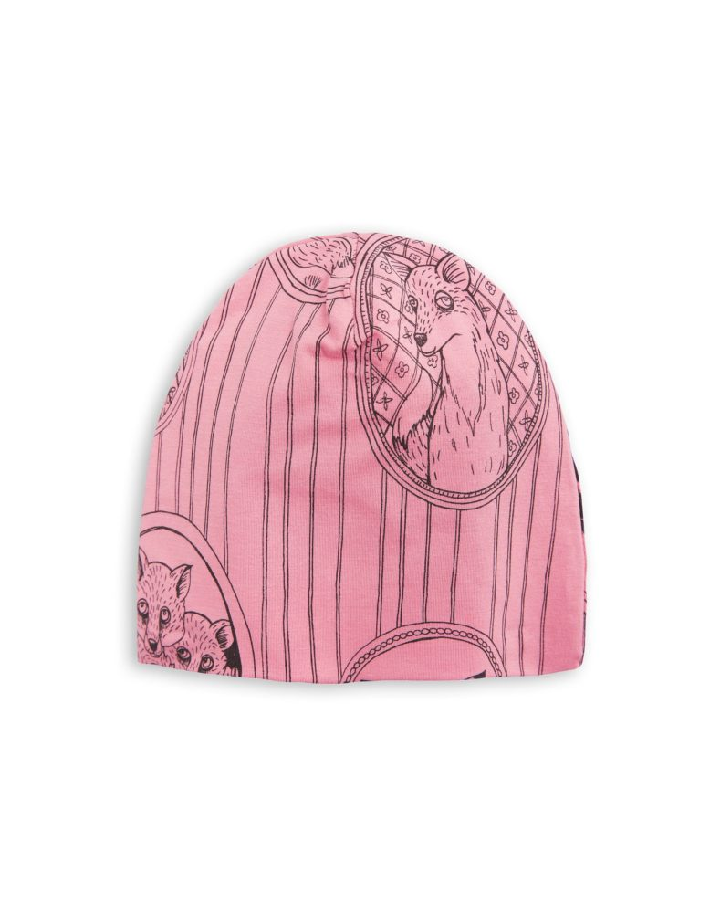 1776510033 1 mini rodini fox family beanie pink