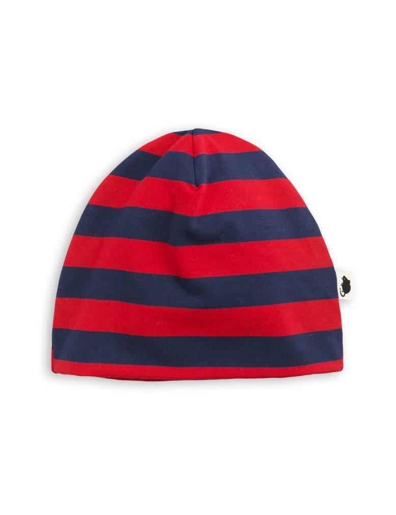 1776510242 1 mini rodini blockstripe beanie red