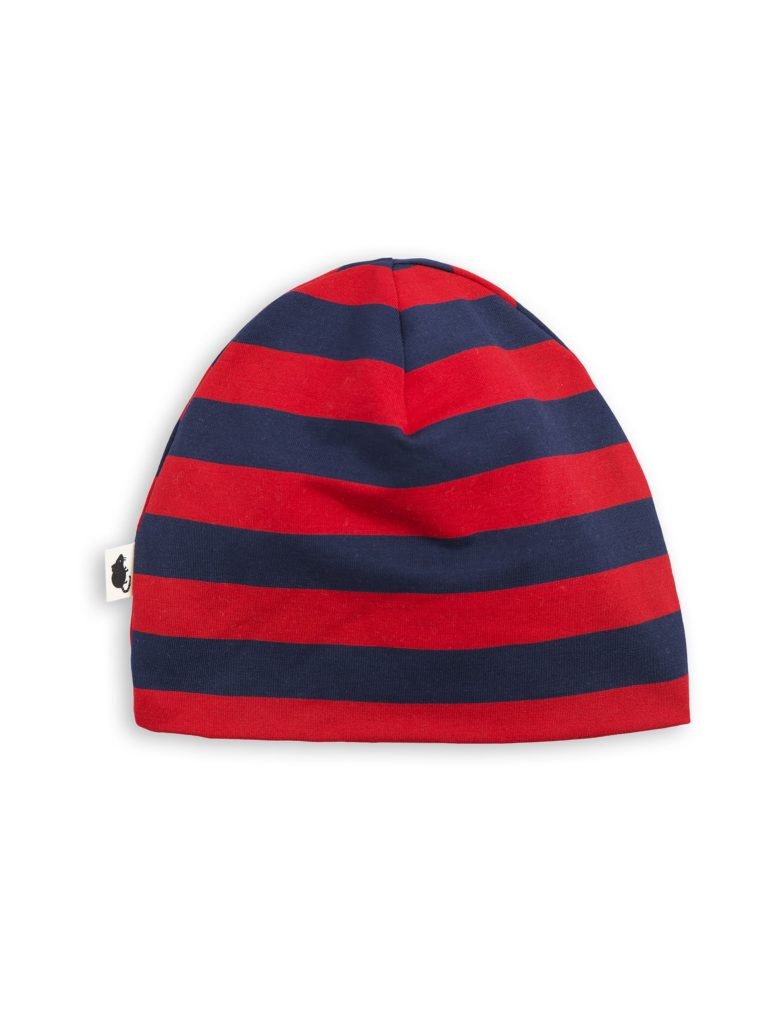 1776510242 2 mini rodini blockstripe beanie red