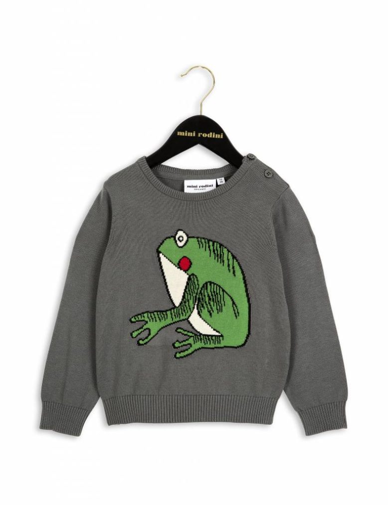 mini-rodini-mini-rodini-frog-knit-sweater-grey