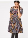 VIENNA FLORAL PRINT TENCEL DRESS