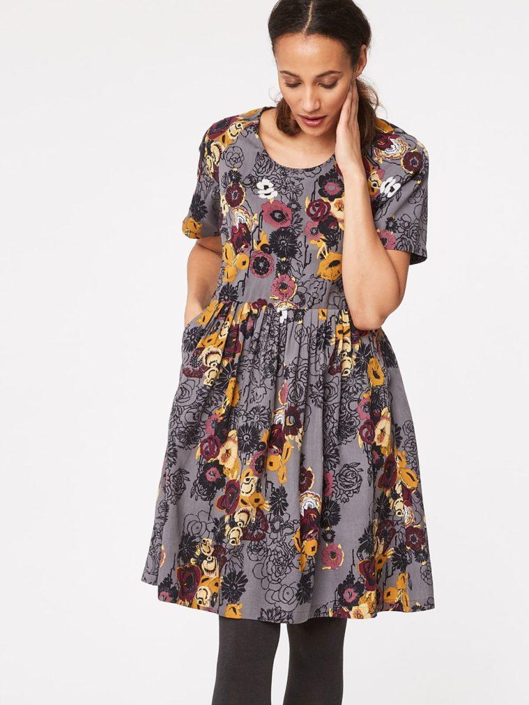 VIENNA FLORAL PRINT TENCEL DRESS 7