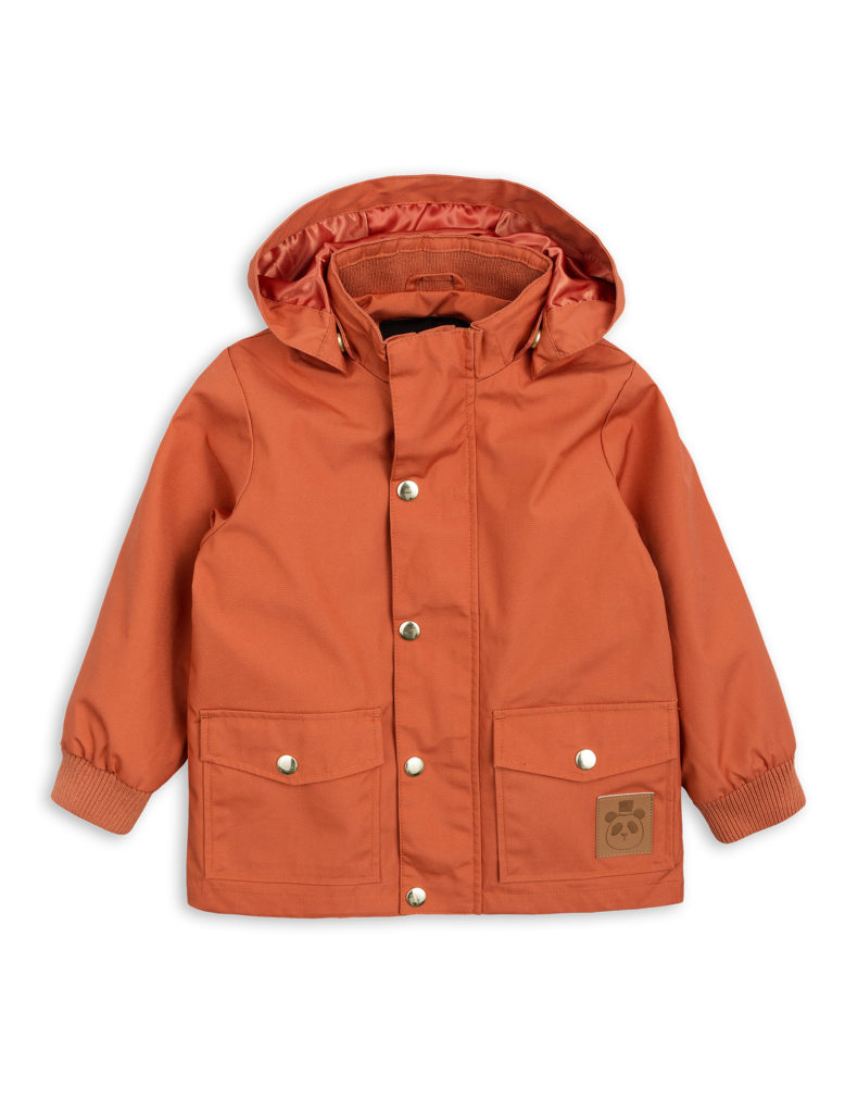1821011026 1 mini rodini pico jacket orange