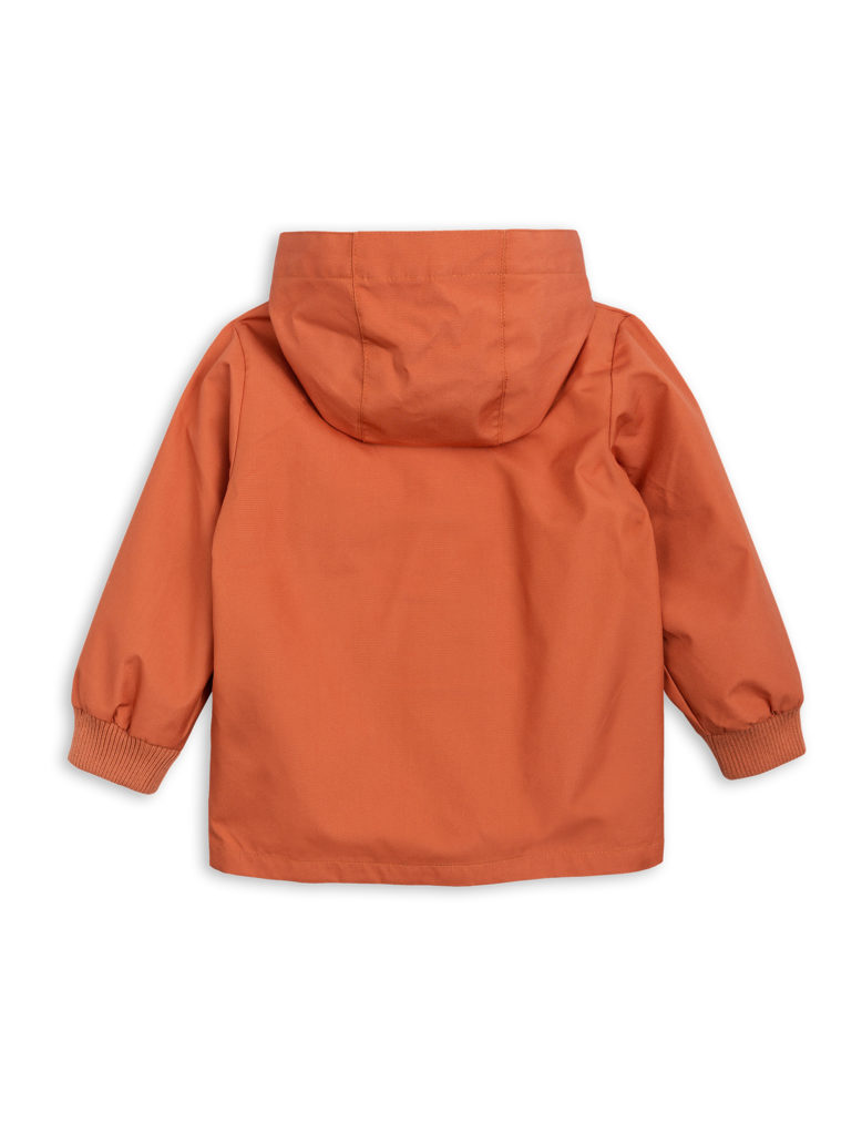 1821011026 2 mini rodini pico jacket orange