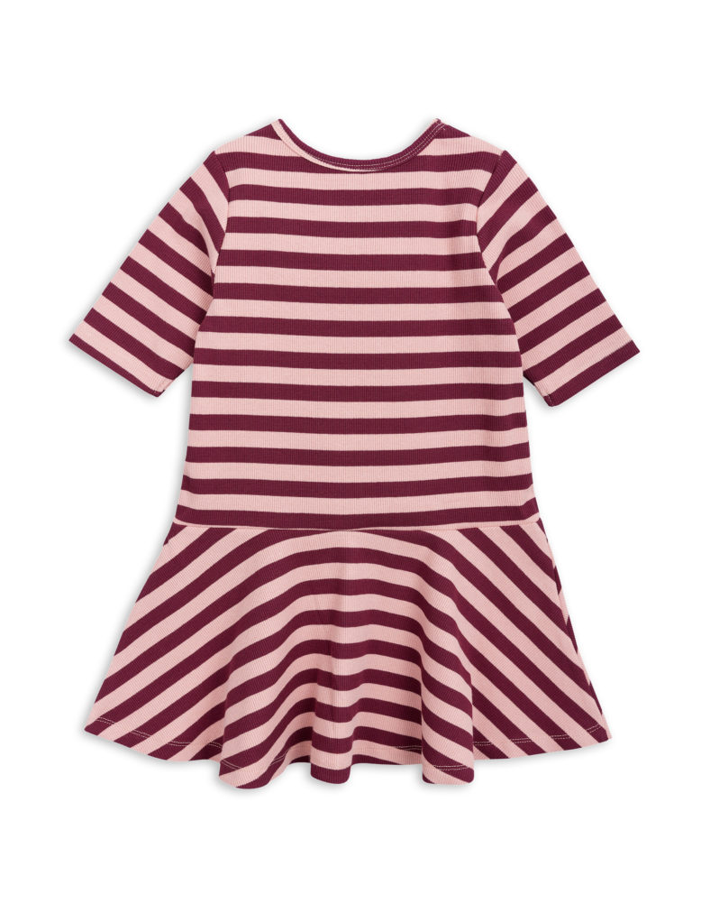1825011733 2 mini rodini stripe rib dance dress pink