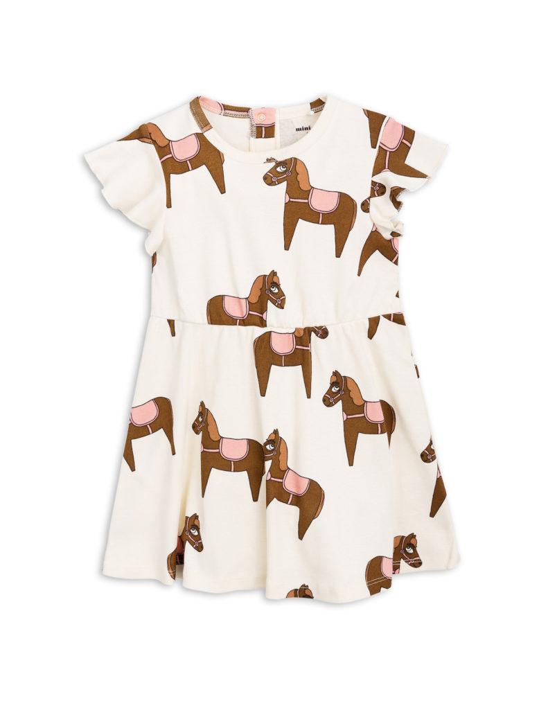 1825012533 1 mini rodini horse dress pink