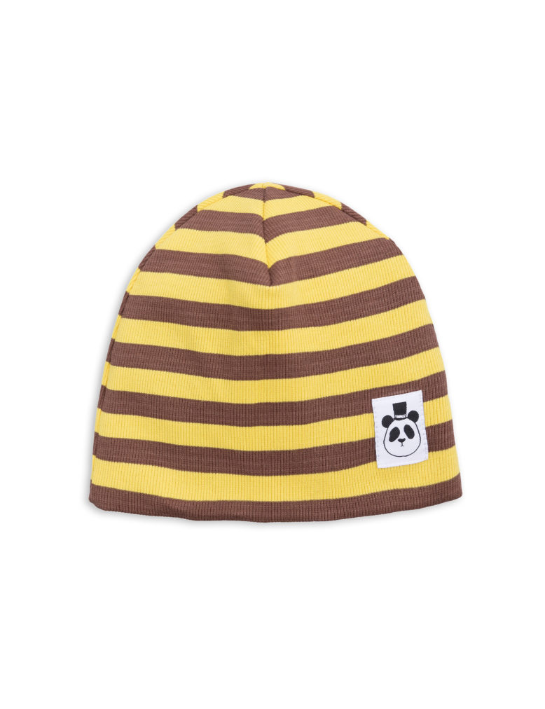 1826510123 1 mini rodini stripe rib beanie yellow