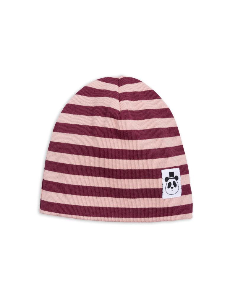 1826510133 1 mini rodini stripe rib beanie pink