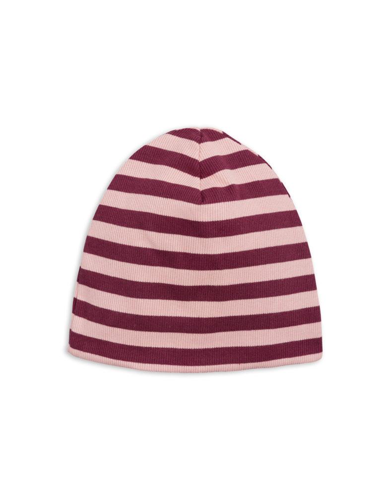1826510133 2 mini rodini stripe rib beanie pink