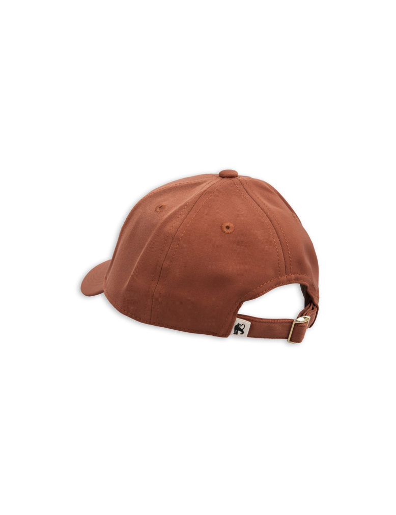 1826510316 2 mini rodini draco embroidery cap brown