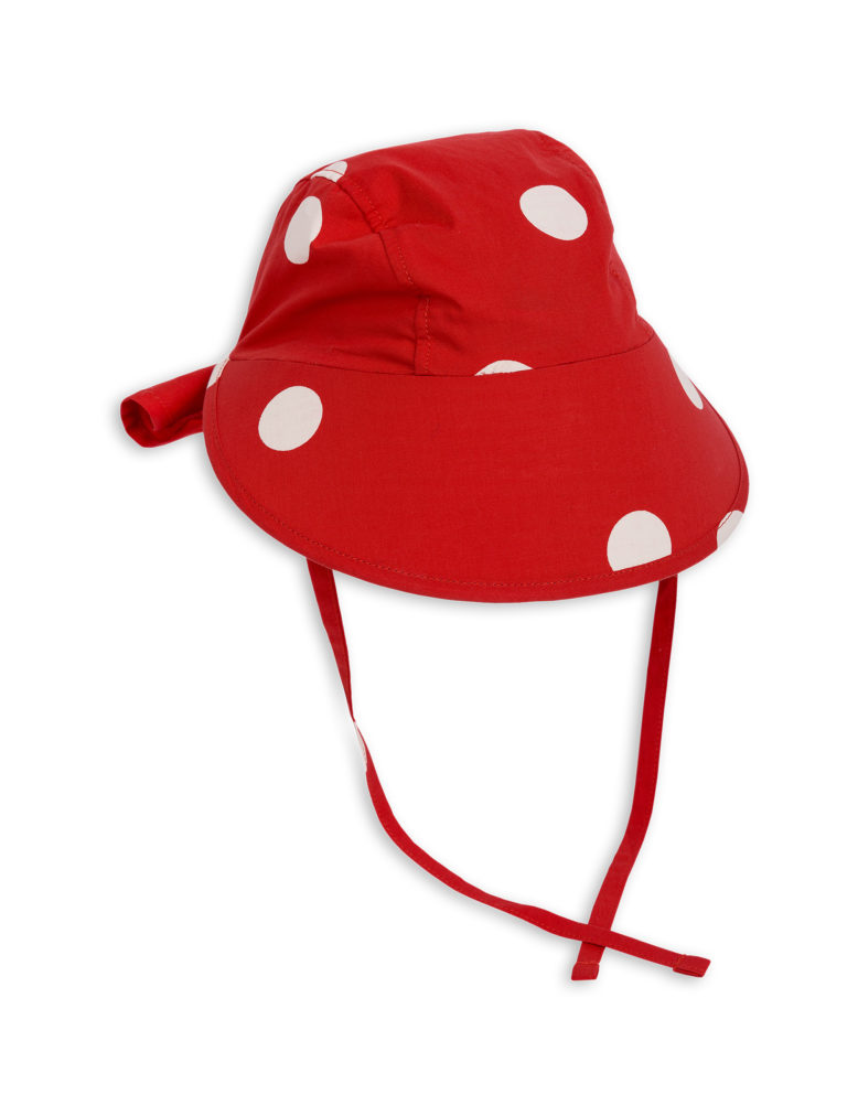 1826511542 1 mini rodini dot sun cap red