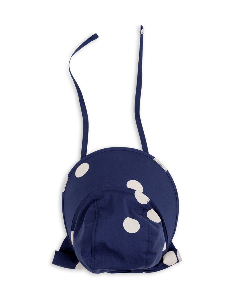 1826511567 3 mini rodini dot sun cap navy