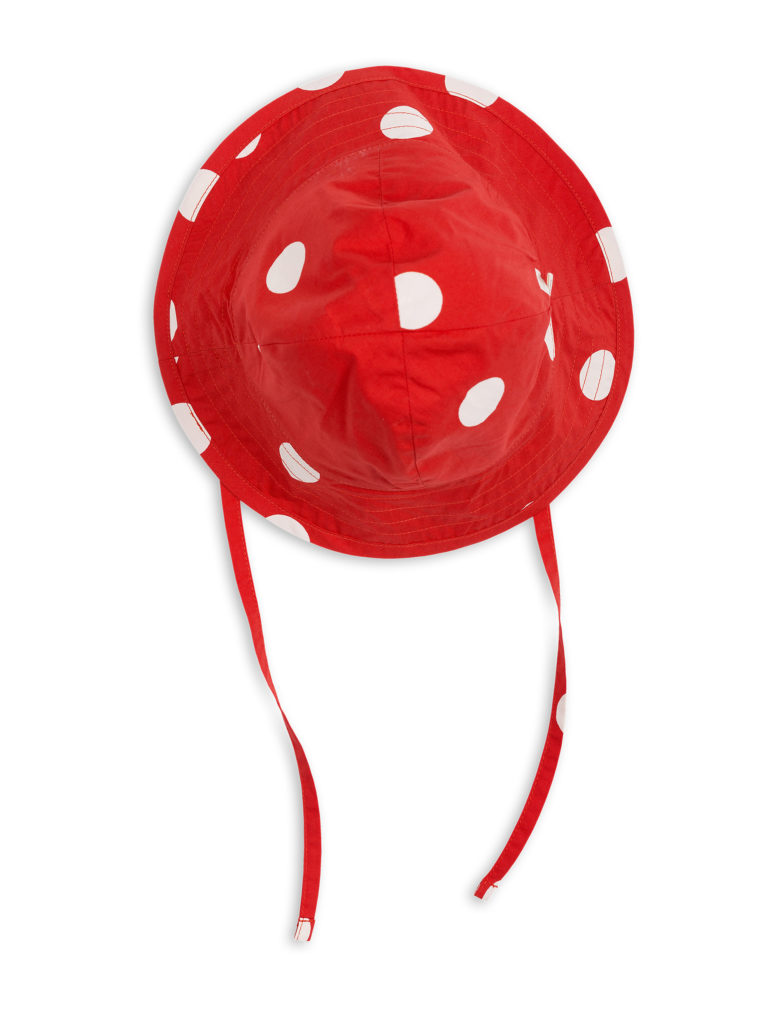 1826511742 1 mini rodini dot sun hat red