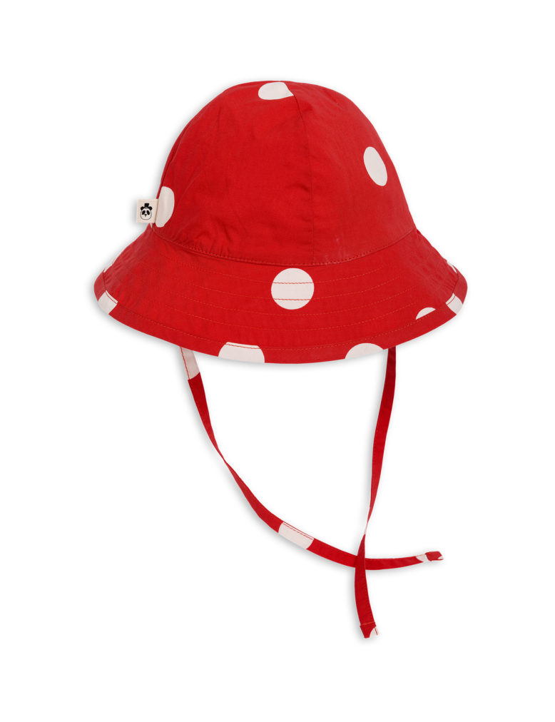 1826511742 2 mini rodini dot sun hat red