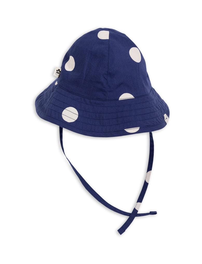 1826511767 2 mini rodini dot sun hat navy