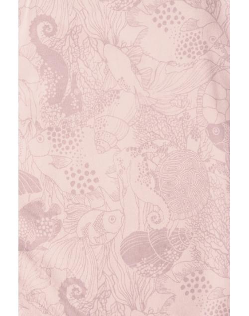 CLEO body i ekologisk bomull- Print Vintage Pink 5