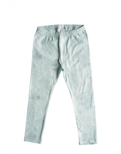 LEON leggings i ekologisk bomull - Print Min