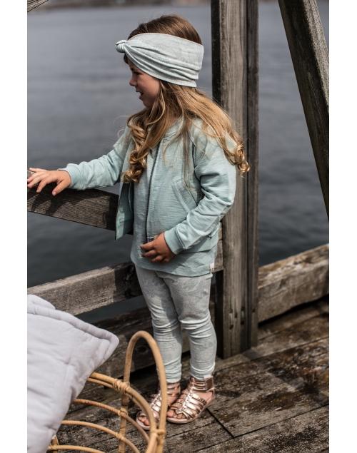 LEON leggings i ekologisk bomull - Print Min 6