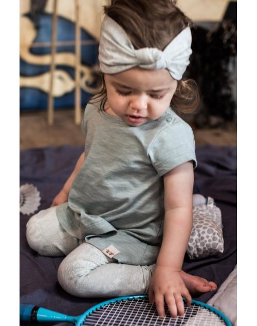 LEON leggings i ekologisk bomull - Print Min 7