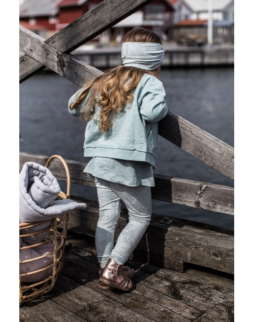LEON leggings i ekologisk bomull - Print Min 8