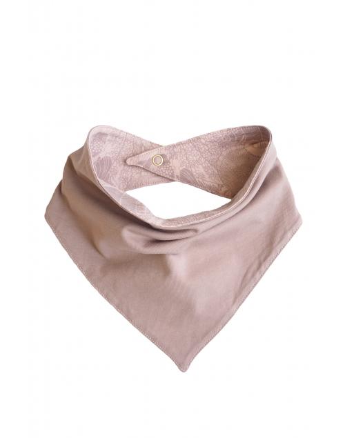 carf dreggel-lapp i ekologisk bomull - print Vintage pink