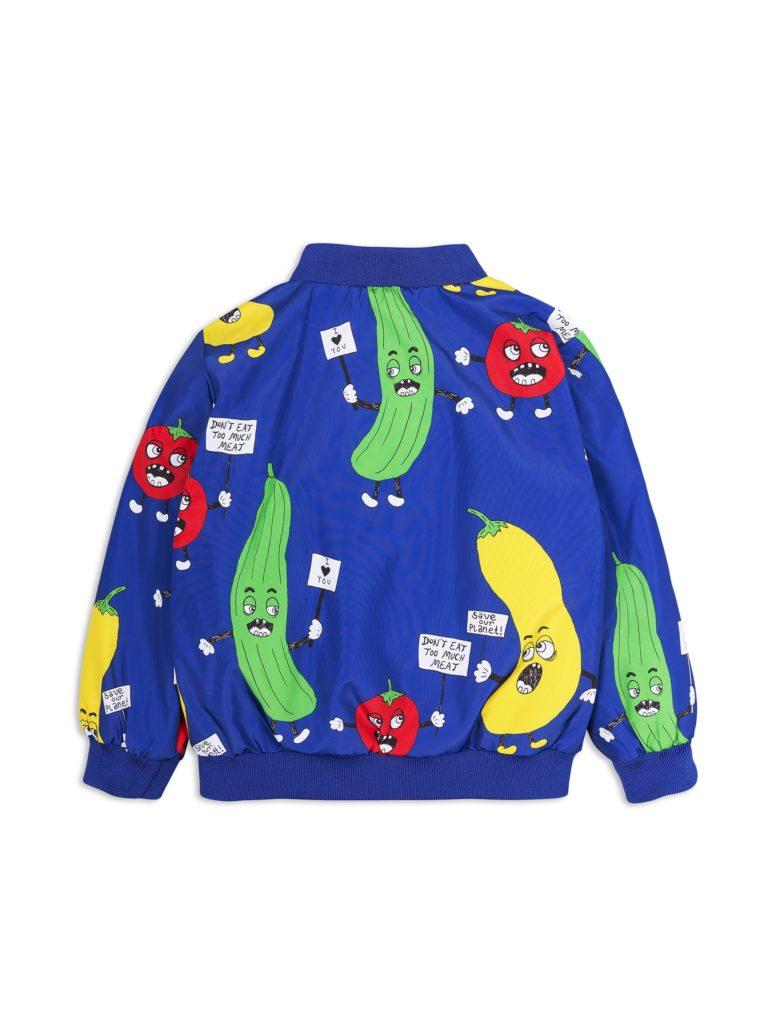 1821010660 2 mini rodini veggie baseball jacket blue